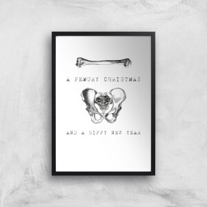 A Femury Christmas And A Hippy New Year Art Print
