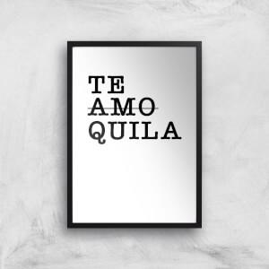 Te Amo/Quila Art Print