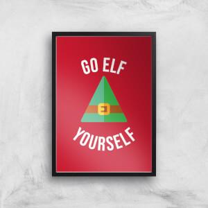 Go Elf Yourself Art Print