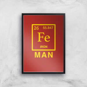 Fe Man Art Print