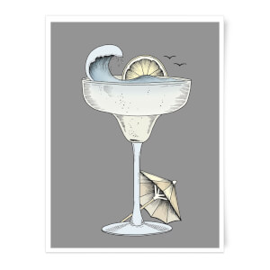Summer Cocktail Art Print