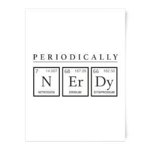 Periodically Nerdy Art Print