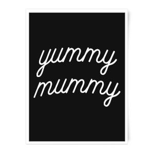 Yummy Mummy Art Print