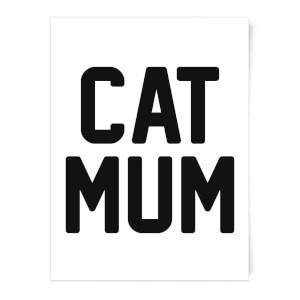 Cat Mum Art Print