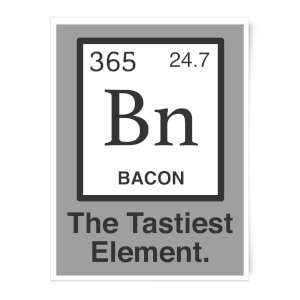 Bacon Element Art Print