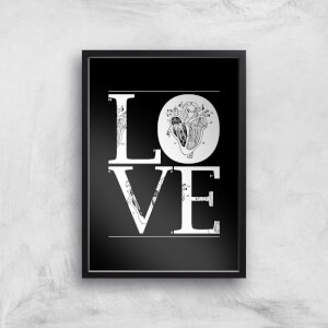 Anatomic Love Art Print