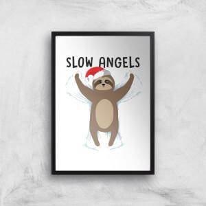 Slow Angels Art Print