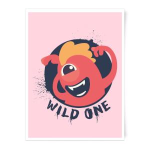 Wild One Art Print