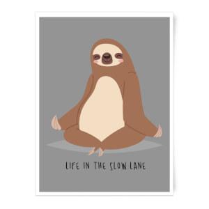 Life In The Slow Lane Art Print