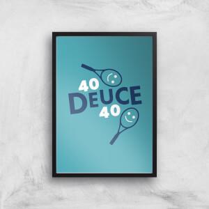 40 Deuce 40 Art Print