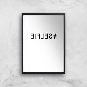Mirror Selfie Art Print