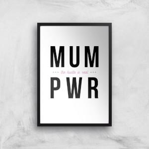 MUM PWR Art Print