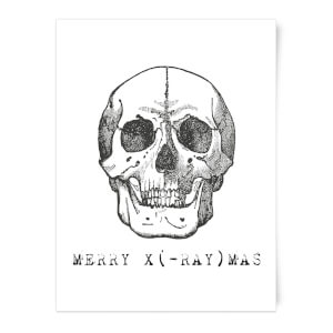 Merry X(-Ray) Mas Art Print