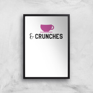Coffee And Crunches Art Print