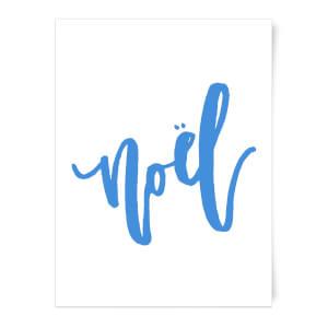 Noel Snowflakes Art Print