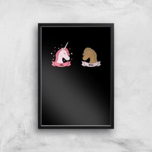 Im A Unicorn Art Print