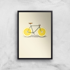 Citrus Lemon Art Print