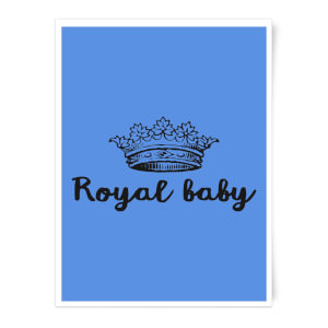 Royal Baby Art Print