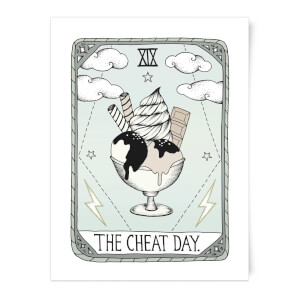 The Cheat Day Art Print