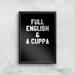 Full English And A Cuppa Art Print