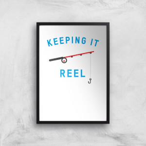 Keeping It Reel Art Print
