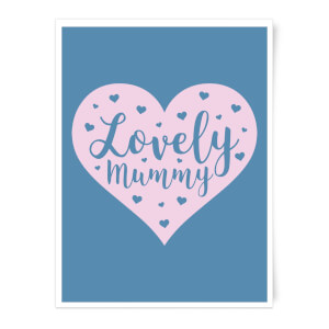 Lovely Mummy Art Print