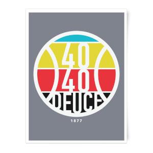 40 40 Deuce Art Print