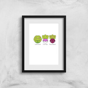 Turnip The Beet Art Print