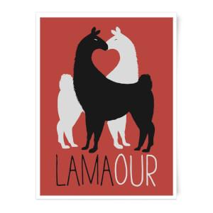 Lamaour Art Print