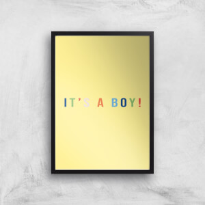 It's A Boy Art Print