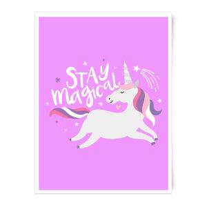 Stay Magical Art Print