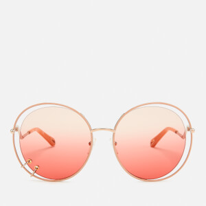 Chloé Women's Wendy Round Frame Sunglasses - Rose Gold/Gradient Rose