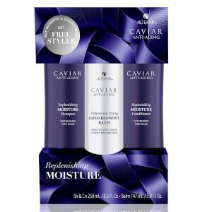 Alterna Caviar Moisture + Rapid Blowout Balm Kit