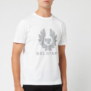 Belstaff Men's Coteland Reflective Logo T-Shirt - White