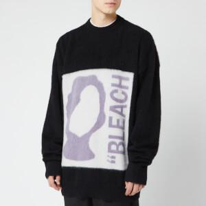 OAMC Men's Bleach Crewneck Sweater - Black