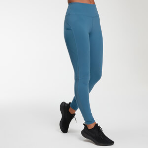 Leggings Power Mesh - Blu intenso