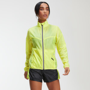MP Training Women's Reflective Windbreaker - Limeade