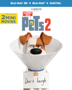 The Secret Life of Pets 2 - 3D (Includes 2D Blu-Ray)