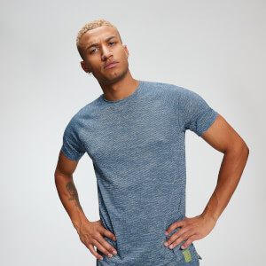 Training Men's T-Shirt - Washed Blue Marl