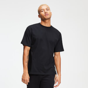 Rest Day Men's Tape T-Shirt - Black