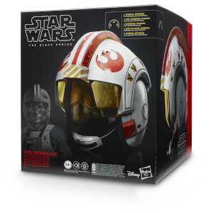 Casco Luke Skywalker Electrónico Hasbro Marvel Legends (1:1)