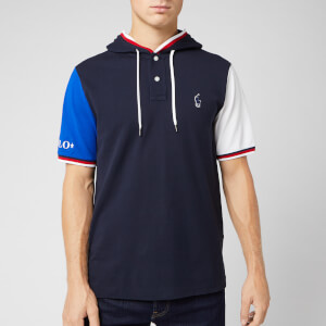 Polo Sport Ralph Lauren Men's Hooded Polo Shirt - Aviator Navy