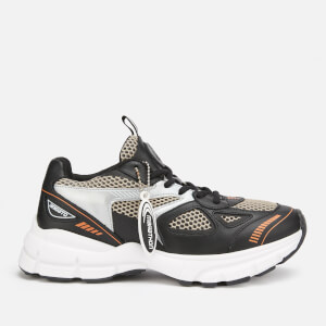Axel Arigato Women's Marathon Running Style Trainers - Black/Grey/Orange