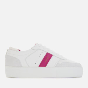 Axel Arigato Women's Leather Platform Trainers - White/Pink