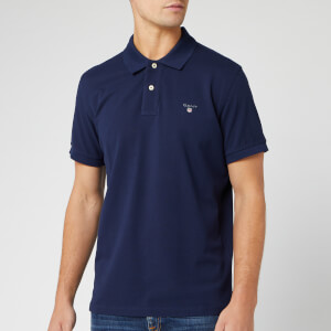 GANT Men's Original Pique Polo Shirt - Evening Blue