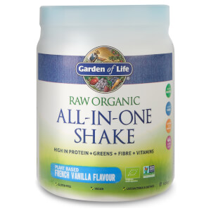 Raw Organic All-In-One Shake - Vanilla - 484g