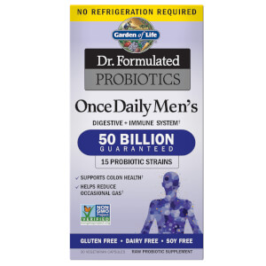 Microbiome Once Daily Men's Shelf - 30 Capsules