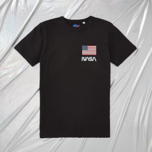 NASA Apollo 11 One Small Step Unisex T-Shirt - Schwarz