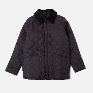 Barbour Boy's Liddesdale Quilted Jacket - Navy