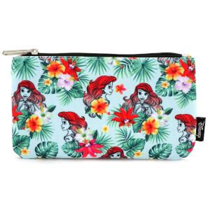 Disney La Sirenita Loungefly Estuche Estampado Floral